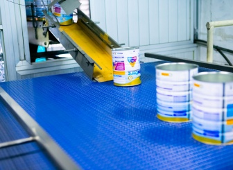 Paint cans production line